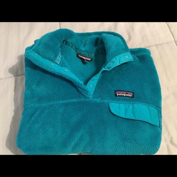 Women's Patagonia Hooded Sweater Sea GreenBlue L
